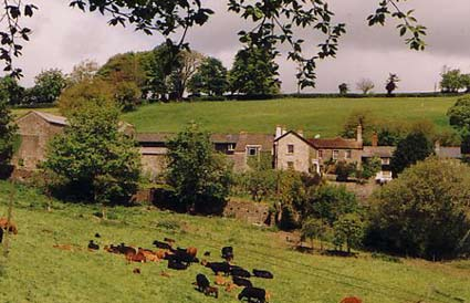 Self catering country holiday on Exmoor Farm